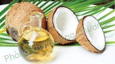 trị đồi mồi bằng dầu dừa