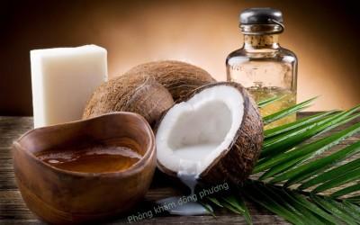 Trị ngứa da đầu cùng dầu dừa