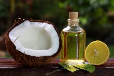 chia sẻ cách chữa chàm sữa với dầu dừa