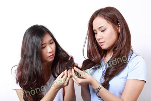 Trị rụng tóc sau sinh