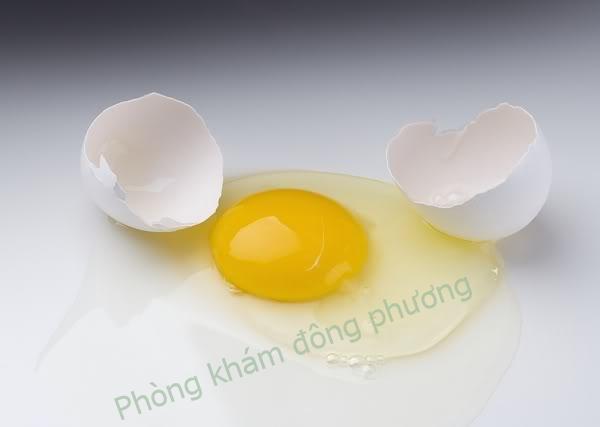 Trị nám da bằng lòng trắng trứng gà