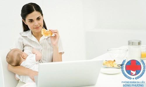 Bệnh ngứa sau khi sinh do ít vận động