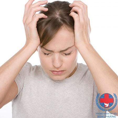 Một trong các dạng viêm da corticoid là viêm da tăng tiết