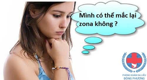 Zona có tái phát không ? Cùng chuyên gia giải đáp