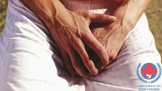 Bệnh ghẻ ở cơ quan sinh dục nam