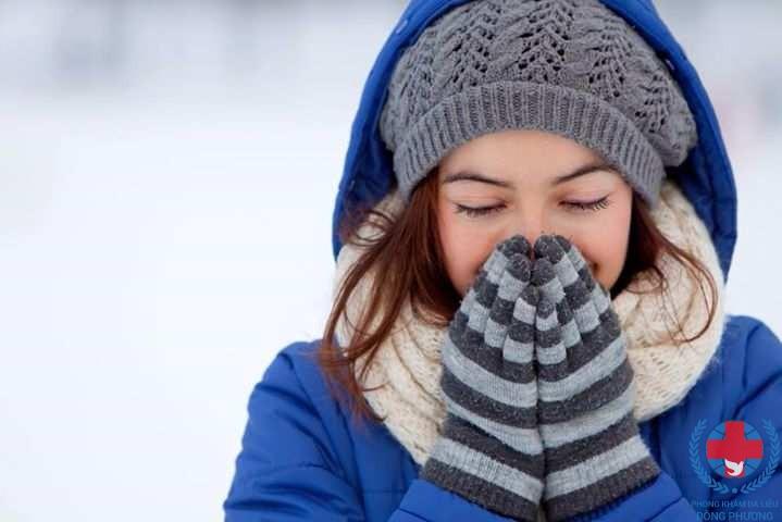 Dị ứng da khi trời lạnh cùng điểm mặt các triệu chứng hay gặp