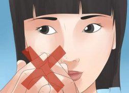 cách trị mụn trứng cá đầu đen tại nhà thường không hiệu quả