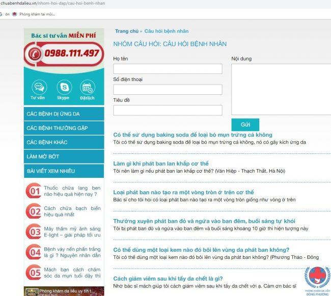 5 Li Do Cho Thay Website Chuabenhdalieu.vn Dang De Ban Truy Cap 02