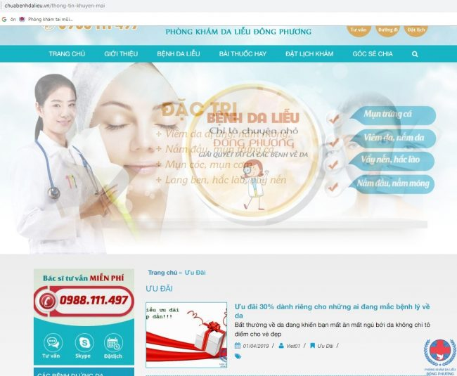 5 Li Do Cho Thay Website Chuabenhdalieu.vn Dang De Ban Truy Cap 03